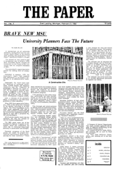 The Paper Vol. I No. 5 — Feb. 3, 1966