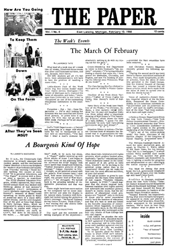 The Paper Vol. I No. 6 — Feb. 10, 1966
