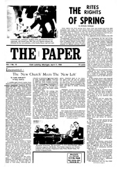 The Paper Vol. I No. 10 — Apr. 7, 1966