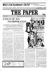 The Paper Vol. II No. 4 — Oct. 20, 1966
