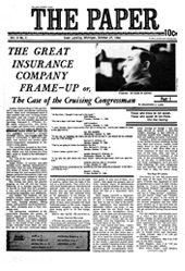 The Paper Vol. II No. 5 — Oct. 27, 1966