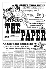 The Paper Vol. II No. 20 — Apr. 11, 1967